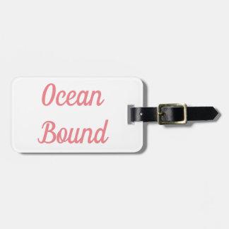 Ocean Bound Luggage Tag