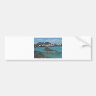 Ocean Car Bumper Sticker