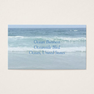 Ocean Business Cards