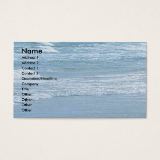 Ocean Business Profile Card
