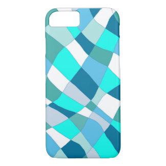 Ocean Check Pillow iPhone 7 Case