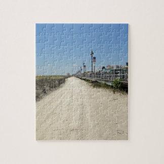 Ocean city Boardwalk Jigsaw Puzzle