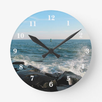 Ocean City Inlet Round Clock
