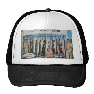 Ocean City, Maryland Home Of The White Marlin, Vin Mesh Hats