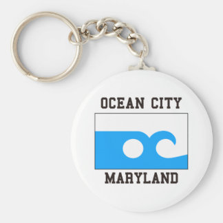 Ocean City Maryland Key Ring