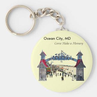 Ocean City Memories: Keychain