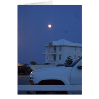 Ocean City Moon 5x7 Card