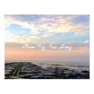 Ocean City, New Jersey Post Card-Jetty Postcard