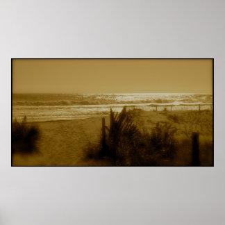 Ocean City Surf Poster