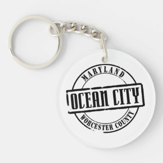 Ocean City Title Key Ring