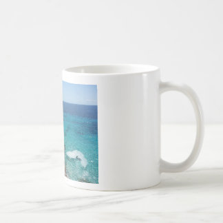 ocean cliff mug, coffee and tea mug