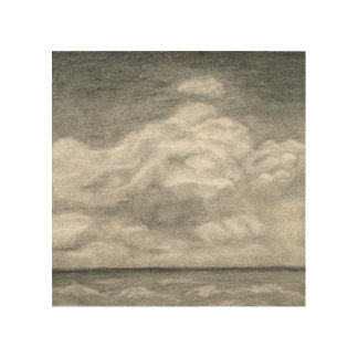 Ocean Clouds Wood Wall Decor