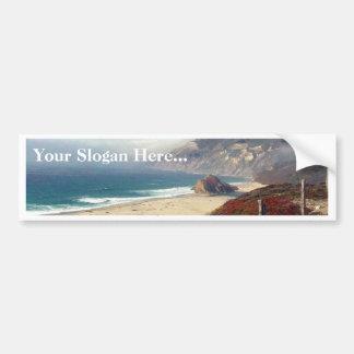 Ocean Coast Waves Bumper Stickers