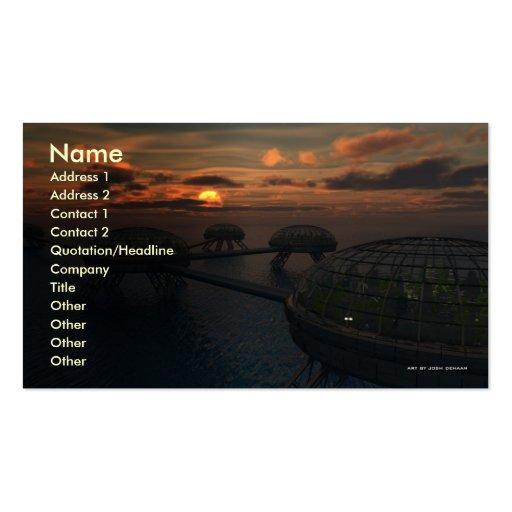 Ocean Communities Business Card Template