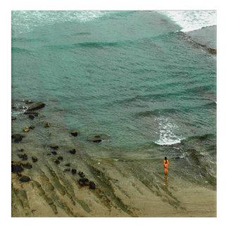 Ocean Contemplation Print Acrylic Print