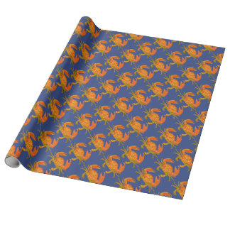 Ocean Crabs Wrapping Paper