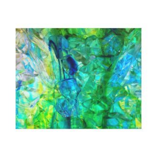 Ocean Crystals 2  20x16 canvas print
