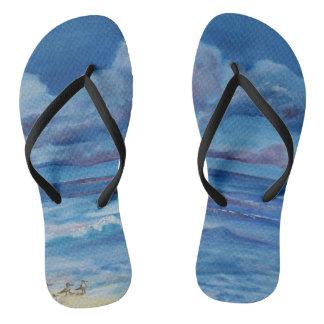 Ocean Design Flip Flops