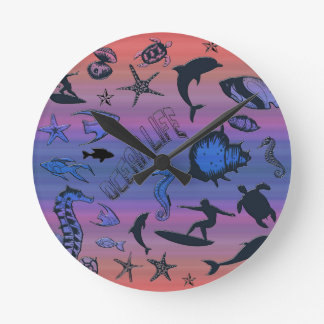 Ocean Design Wallclock