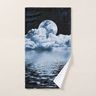 Ocean Dream Space Hand Towel