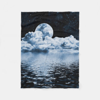 Ocean Dream Space Small Fleece Blanket