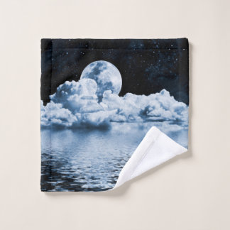 Ocean Dream Space Wash Cloth