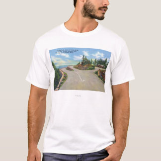 Ocean Drive Double Deck Road View T-Shirt