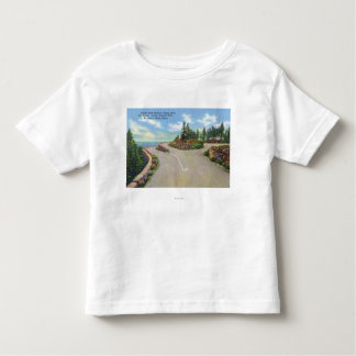 Ocean Drive Double Deck Road View Toddler T-Shirt