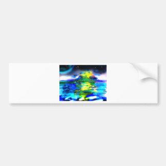 Ocean-Elsewhere Car Bumper Sticker