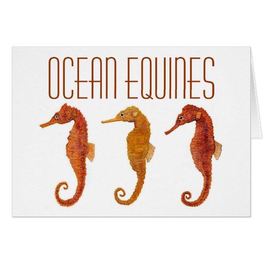 Ocean Equines Card