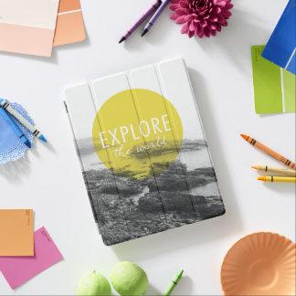 Ocean | Explore The World Quote iPad Cover