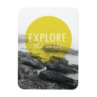 Ocean | Explore The World Quote Magnet