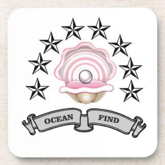 ocean find pearl coaster