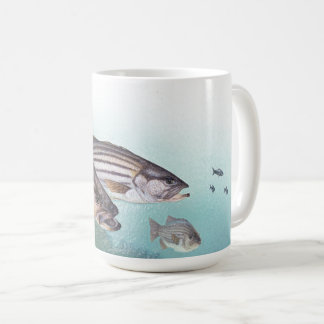 Ocean Fishing Striped Bass Fish Sea Mug