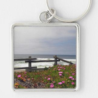 Ocean Flowers Key Chain
