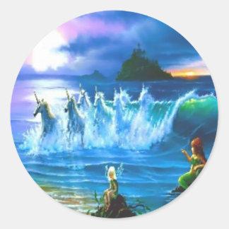 Ocean Full Of Unicorns Stickers