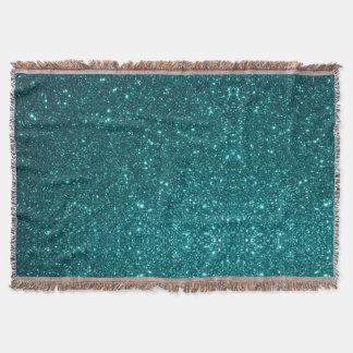 Ocean Glitter Throw Blanket