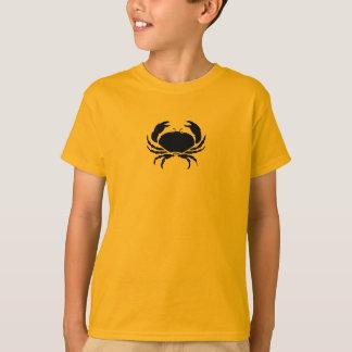 Ocean Glow_Black on Orange Crab T-Shirt