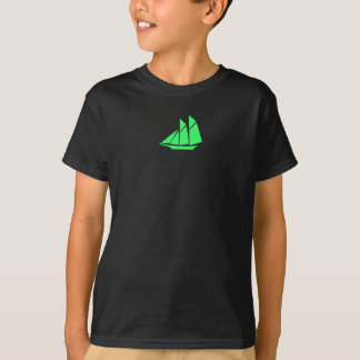 Ocean Glow_green Clipper T-Shirt