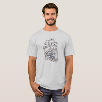 Ocean Heart T-shirt
