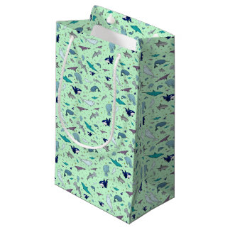 Ocean in Green Small Gift Bag