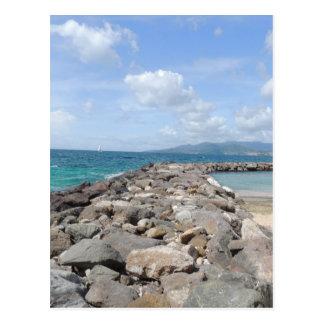 Ocean in Grenada Postcard
