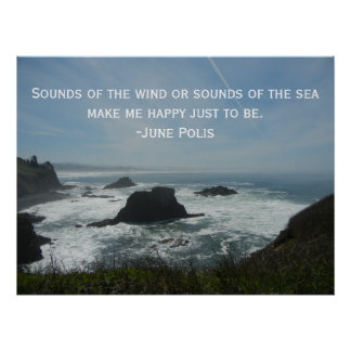 Ocean Inspirational Poster