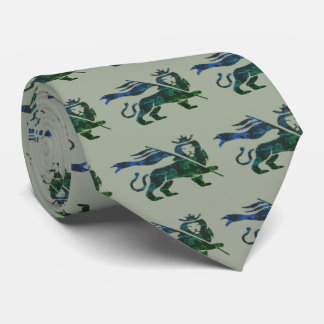 Ocean inspired Lion of Judah Tie