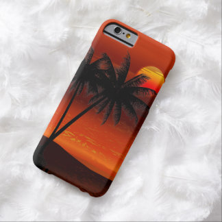 Ocean Island  Landscape Barely There iPhone 6 Case