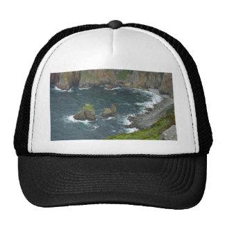Ocean Islands Waves Surf Mesh Hats