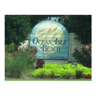 Ocean Isle Beach Postcard