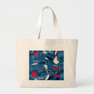Ocean Large Tote Bag