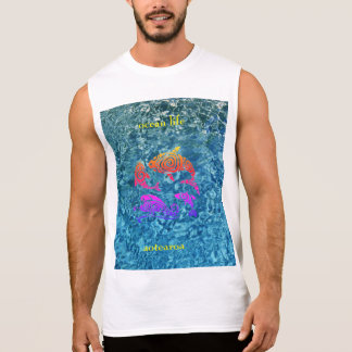 ocean life aotearoa sleeveless shirt