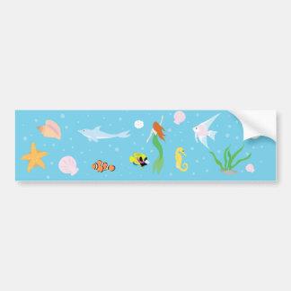 Ocean Life Bumper Sticker